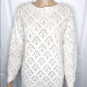 🌸Super cute GAP Chunky White Sweater